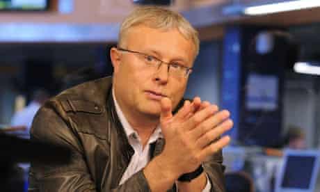 HEAD OF THE NATIONAL RESERVE CORPORATION (NRC) ALEXANDER LEBEDEV