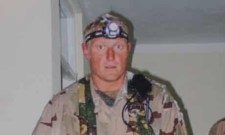 SAS soldier Sergeant Danny Nightingale