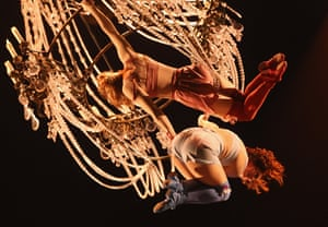 24 hours in pictures: Cirque Du Soleil Dress Rehearsal