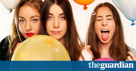 happy valen haim 39 s day a playlist with love from haim music the guardian. Black Bedroom Furniture Sets. Home Design Ideas