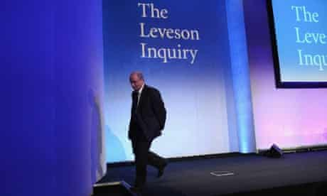 Job done, Lord Justice Leveson leaves after delivering his report into the culture, practices and ethics of the press. Read the latest on the report.