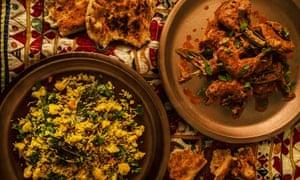 Butter chicken and winter vegetable pilau recipe | Vivek