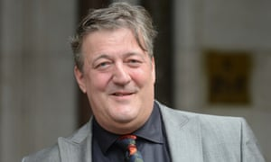 Stephen Fry: national treasure.