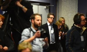 Actor Hugh Grant attends a media conference called by 'Hacked Off' in response to the findings of the Leveson Inquiry. Read our latest report.