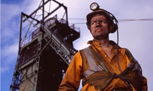 Coal miner fossil fuel