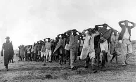 Mau Mau suspects rounded up