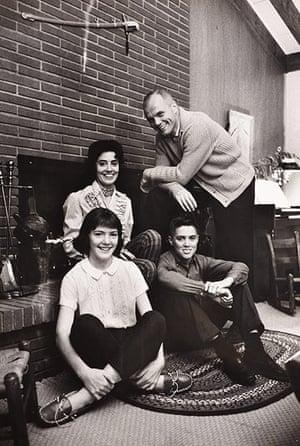 Space: John Glenn and family at home