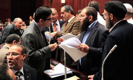 Egyptian assembly members