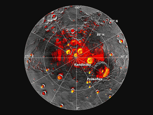Mercury's permanently shadowed craters