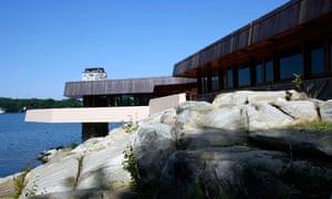 Frank Lloyd Wright's Petre island house