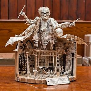 Book sculpture: Alasdair Gray's Lanark