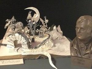 Book sculptures in situ: sculpture inspired by the Robert Burns poem Tam O'Shanter