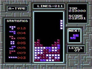 Videogames bought by Moma: Tetris (1984)