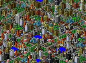 Videogames bought by Moma: SimCity 2000 (1994)