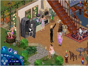 Videogames bought by Moma: The Sims (2000)