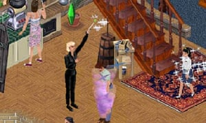 The Sims video grab