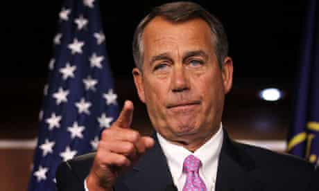 John Boehner takes questions