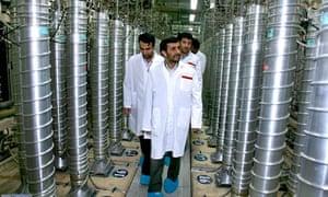 iran suspend uranium enrichment