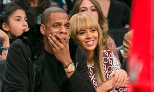 Beyonce and Jay-Z  watch Brooklyn Nets