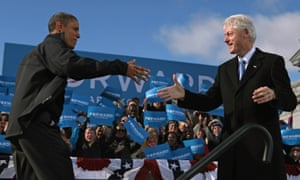 Bill Clinton Barack Obama new hampshire