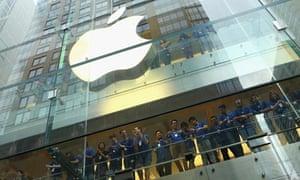 Apple staff in Sydney