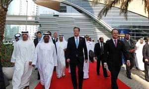 David Cameron in Dubai