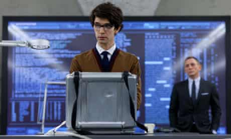 Numbers game … Ben Whishaw's Q calculates Skyfall's rocketing totals.