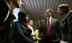 Ed Miliband at living wage event