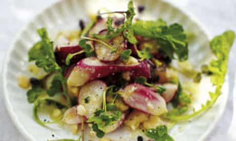 April Bloomfield's radish salad