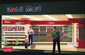 Adbusters gallery: Mobil Mart