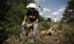 George Bush at Crawford Ranch