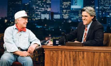 Jimmy Carter on The Jay Leno Show in 1995.