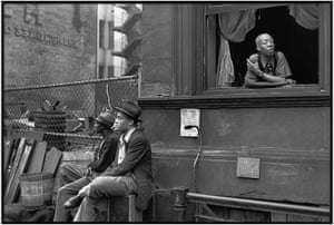 Cartier-Bresson: Harlem, New York, 1947 by Henri Cartier-Bresson
