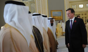 Cameron visit to the Gulf States