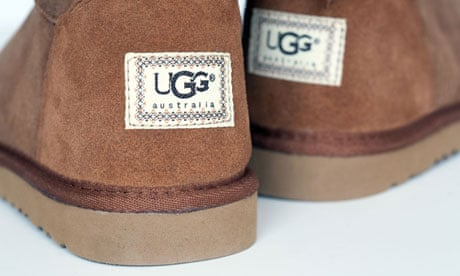 What is the economic group for Ugg australia?