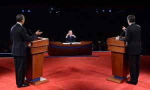 US election tv debate media