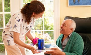 A care worker