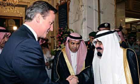 Cameron in Jeddah
