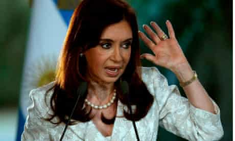 Argentina president, Cristina Fernández de Kirchner
