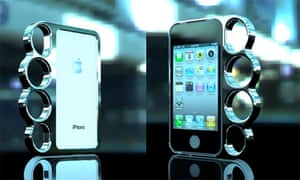 The Knucklecase transforms your iPhone into a knuckleduster