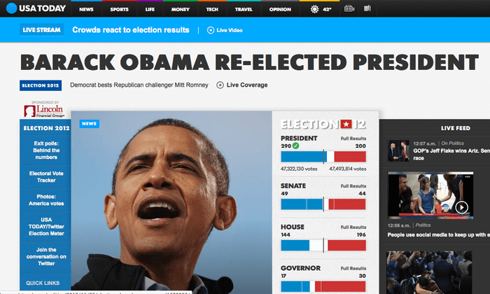 US Election Obama Wins Second Term As It Happened World - The guardian us presidential election 2012 map