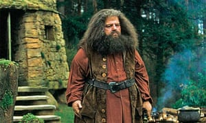 Robbie Coltrane in Harry Potter And The Philosopher's Stone