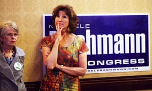 Supporters of Michele Bachmann