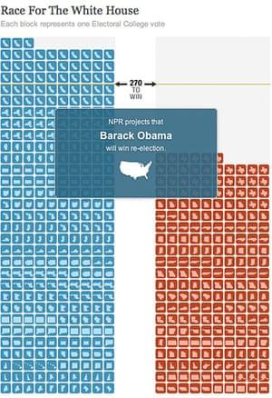 US election maps: NPR election map