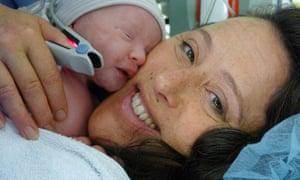 Naomi Gryn with baby Sadie Joy