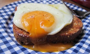 Felicity's perfect fried egg