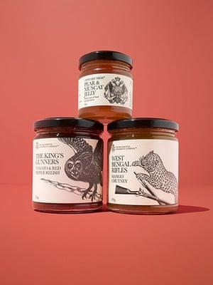 Gift guide under 10: Regimental Condiment Co. jars