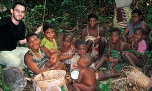 Joshua Foer in Congo