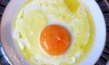 Bernard Loiseau recipe fried egg