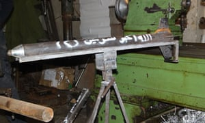Rocket in Syria